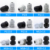 IP68 waterproof plastic PG19 M24*1.5 rubber cable gland