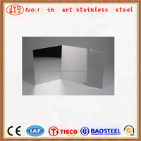Cold rolled 304 8K 10K 12K stainless steel sheet for building metal