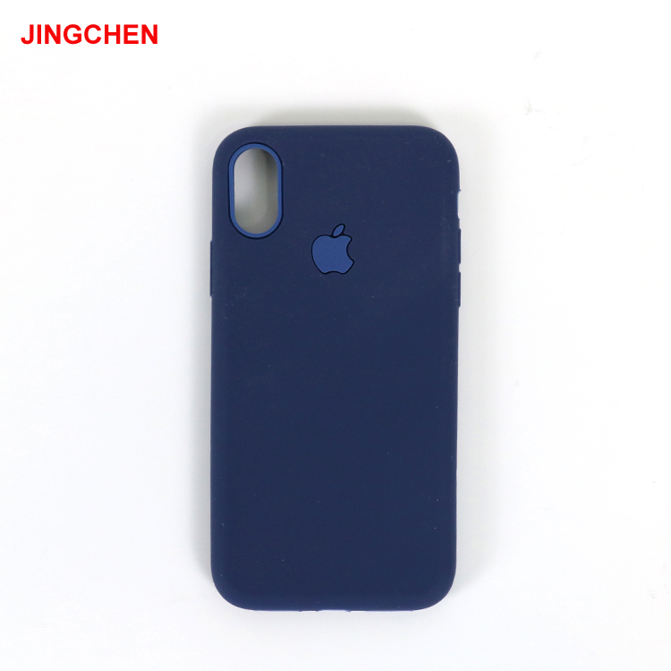Silicone waterproof back wholesale cell phone cover for iphone x