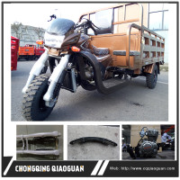 China popular sale heavy loading strong cargo 300cc three wheel motorcycle for africa