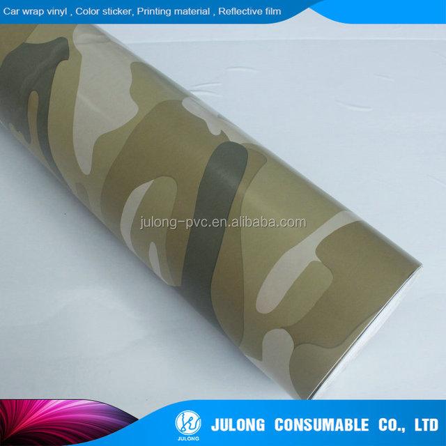 Self-adhesive Camouflage wrap/camoflage wrap sticker 1.52*30m
