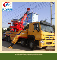 8x4 Sinotruk heavy duty rotator tow truck for sale