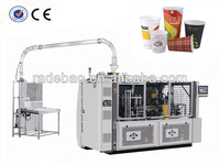 high speed paper cup machine, the only manufacturer that driving system with gear and cam , without any chains