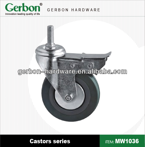 Hospital Medium Duty Swivel Caster