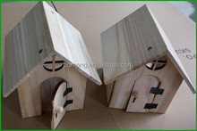Small New Design Wood House Wooden Bird Cage