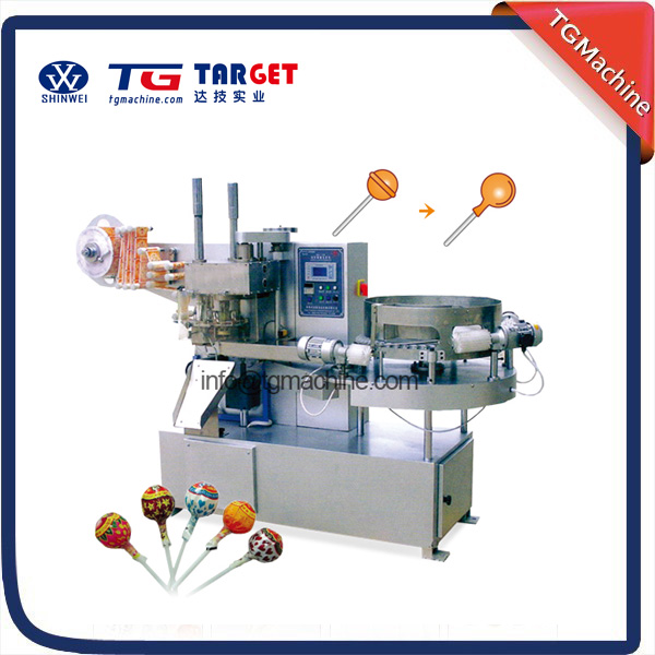 Good quality Chia Made Ball lollipop bunch wrapping machine lollipop packing machine