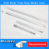 Trim for Jeep Patriot 2011Side Body trim Chrome Accessories from Maike Auto