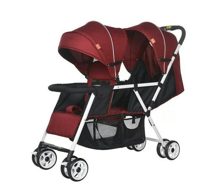 Twin baby stroller 3 in 1 china manufacture,Double strollers triple stroller carrinho duplo bebe baby trolley pram buggy for kid