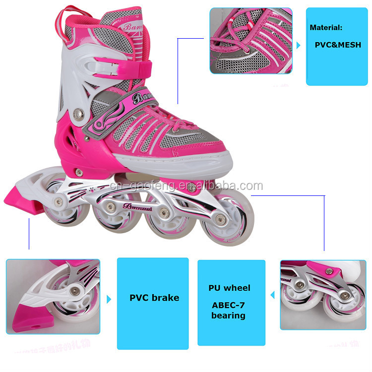 Zhejiang supplier high quality competitive price BW-902-3 inline racing skates