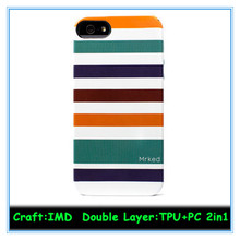 PC + TPU Shockproof Dirt Dust Proof Hard Matte Cover Case For iPhone 5 5S