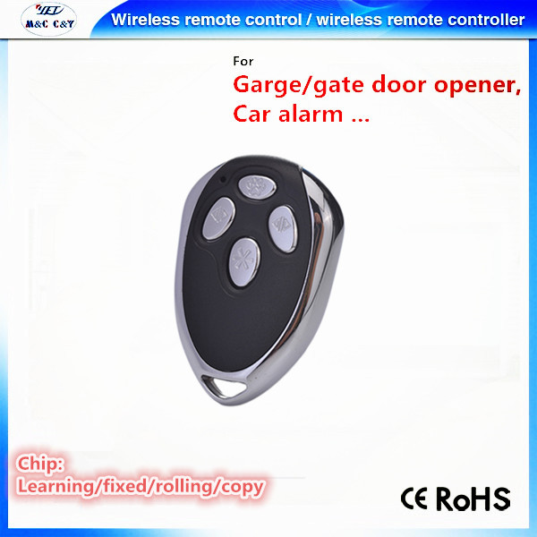 Key Ring Transmitter 433.92MHZ Auto Garage Door Remote Control Opener