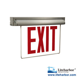 Emergency led light exit sign Acrylic board with ul certification