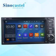 Newest Android 5.1.1 OS 2 din 6.95 inch Touch Screen Android Car DVD Player for Toyota universal with TPMS