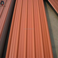 color painted profiled steel sheets corrugated zinc metal roof