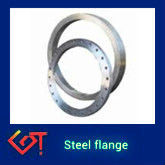 steel flange , metal joint for wood