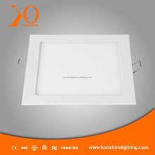 Super bright ultra slim square surface mounted led panel light, slim led panel 24W using as led ceiling light
