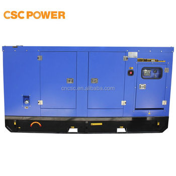 80KVA/64KW with cummins engine diesel generator open type good quality low price