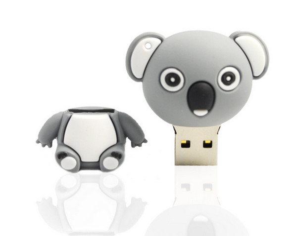 Promotional most popular high quality custom Animal shape usb flash drive 4GB-16GB