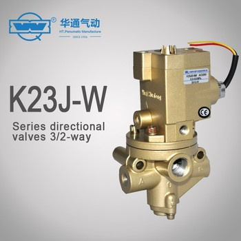 K23J-W 3/2-ways single solenoid poppet valves