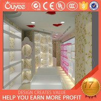 Elegant boutique store fixtures / craft store display fixture / decoration material shop kiosk for shopping mall