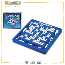 classroom teaching game plastic sudoku game brain intellectual game for kids