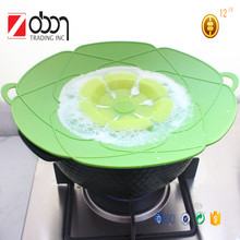 Multi-function Silicone Splatter Guards/Spill-proof Pot Cover/High quality explosion proof silicone cover pot lids