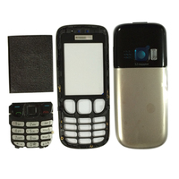 Cellphone parts replacements full housing for Nokia 6303 6303C complete full housing with keypad