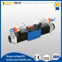 4WE6 easy to use hydraulic directional solenoid engine valve