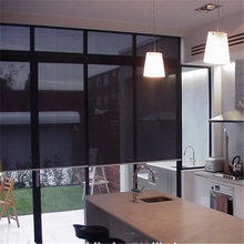 Blackout Sun Shade Curtain Plastic Chain double-layer roller blinds exterior blinds for windows