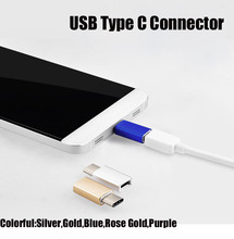 2016 Newest Metal Type C USB 3.1 Type-c to Micro USB Female Adapter for iaomi Mi4c Macbook Oneplus 2 Nokia N1 Tablet