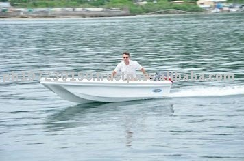 CE Approved Fibeglass Fishing Boat
