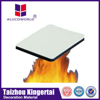 Alucoworld b2 grade fire rated aluminum composite panel sheet acp