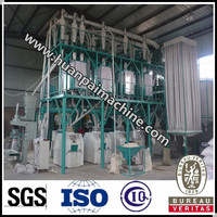 ISO 9001 maize grits mill corn grits milling machine