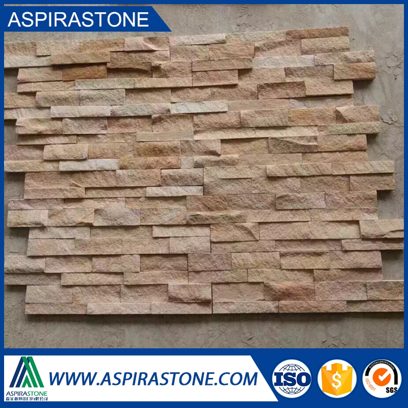 wall natural slate culture stone cladding for beige slate tile