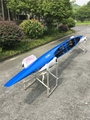 International single canoe sprint/ carbon blue painting C1 boat