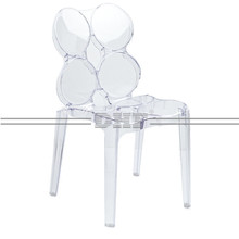 Fashion Luxury Polycarbonate Ghost Chair