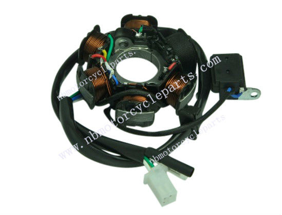 6 Pole Magneto Stator Coil GY6 150cc 125cc Scooter Go-Kart Moped ATV Alternator