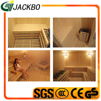 Comfortable steam sauna durable wooden traditional sauna room for hot sale
