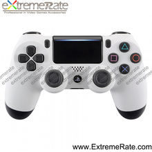 High Quality Soft Touch White Color Front Shell Faceplate for PS4 JDM-040 controller