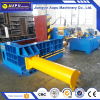 Durable waste compaction machine metal scrap 150ton semi - automatic baler