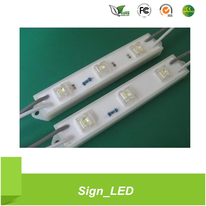 Guangzhou factory ABS 12V waterproof 3 chips 5050 smd led module