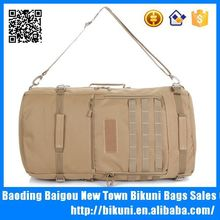 Multifunction backpack outdoor canvas waterproof military travel duffle bag