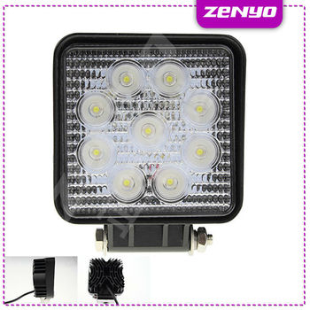 HOT SALE!!! zenyo 27W LED Work Light Epistar Series led work light ,24V 6000k led work light with spot/flood beam for trucks