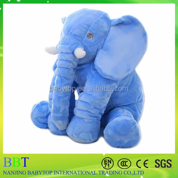 Wholesale elephant shape pillow baby elephant body pillow