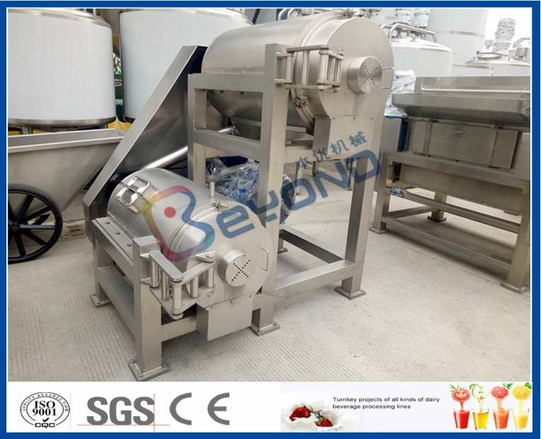 fruit pulping machine fruit pulper single stage or double stage pulping machine