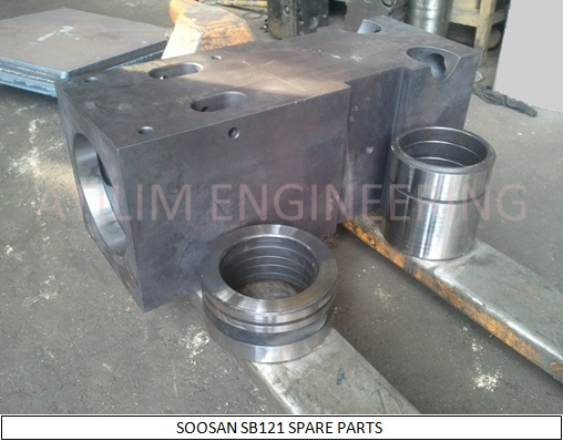 SOOSAN SB121 hydraulic breaker spare parts front head front cover ring bush