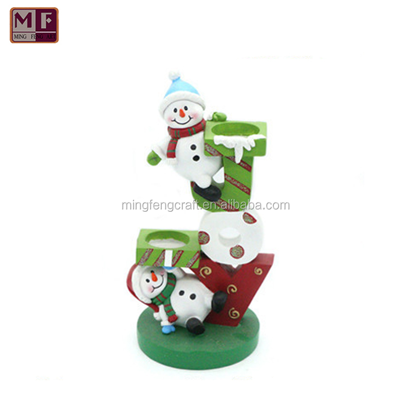 2017 New Design Christmas Decorations Candle Holder