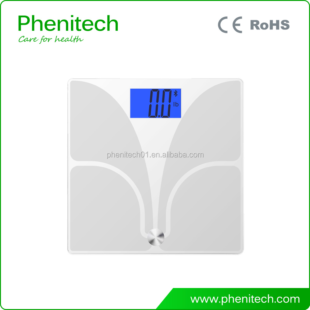 Bluetooth weighing scale parts battery operated scale Muscle mass scales