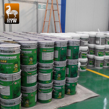 polymer cement based waterproof pu coating for walls tiles