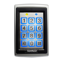EM-ID 125KHz or 13.56MHz Metal Standalone RFID Door Access Control Reader with Keypad